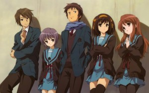 The Disappearance of Suzumiya Haruhi